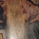 С иконы Троицы исчез ангел